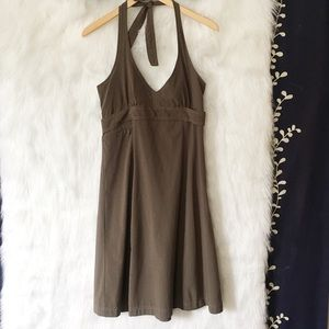 Athleta Brown Halter Active Dress-B26